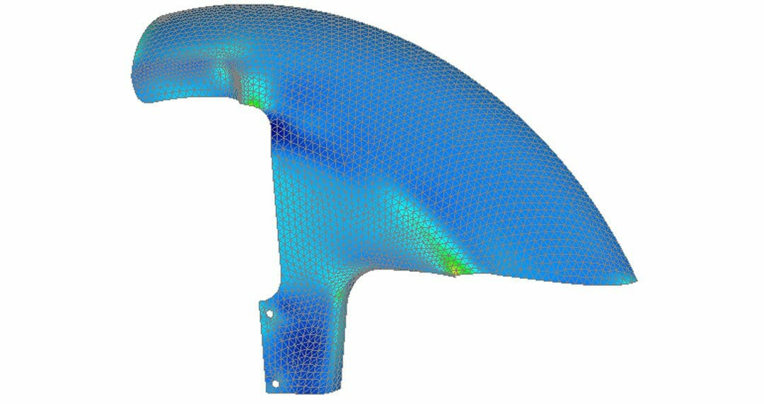 Efficient PostProcessing for Composites with Femap
