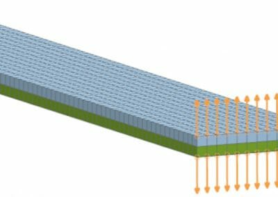 How to simulate delamination using cohesive elements in Simcenter Multiphysics