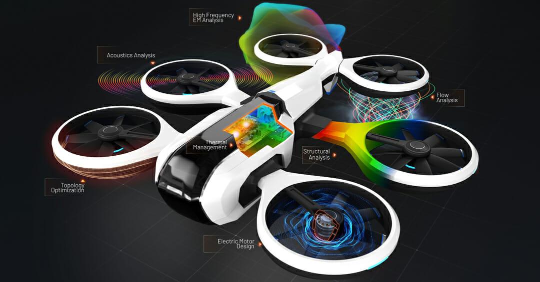 Une nouvelle ère de la mobilité aérienne : les ADAV atteignent de nouveaux sommets grâce à l'approche du jumeau numérique.